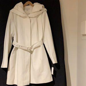NY & Co Belted Coat Sz XL